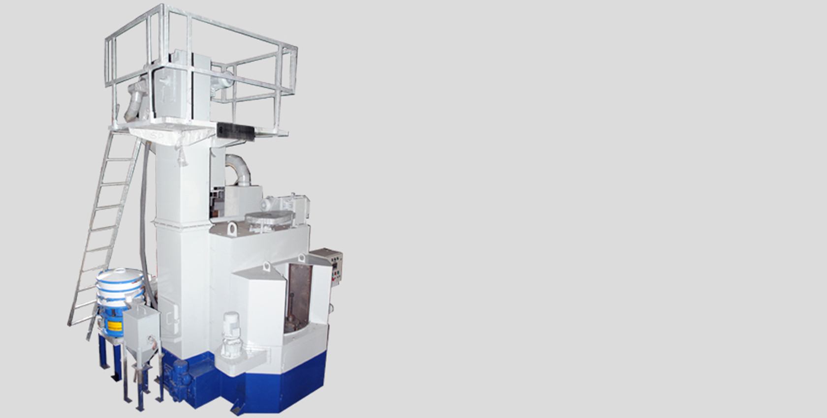 Multi-Table Wheel Peening Machines