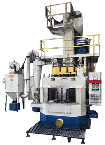 Multi-Table Air Peening Machines