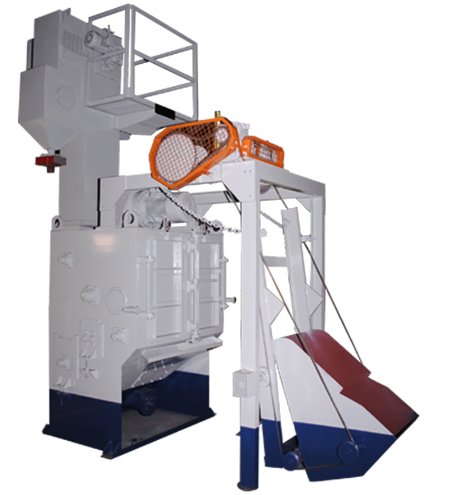 Tumble Blast Type Shot Blasting Machines